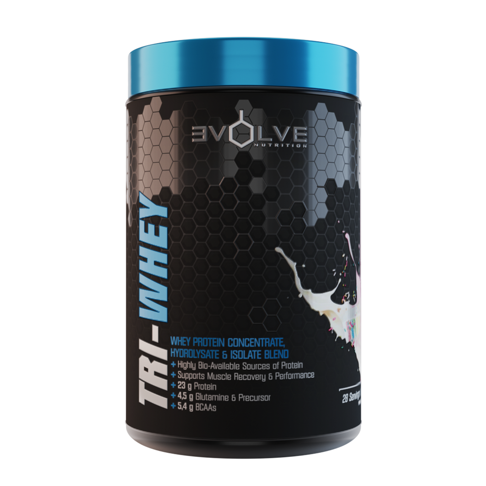 Load image into Gallery viewer, Evolve Tri Whey 909g