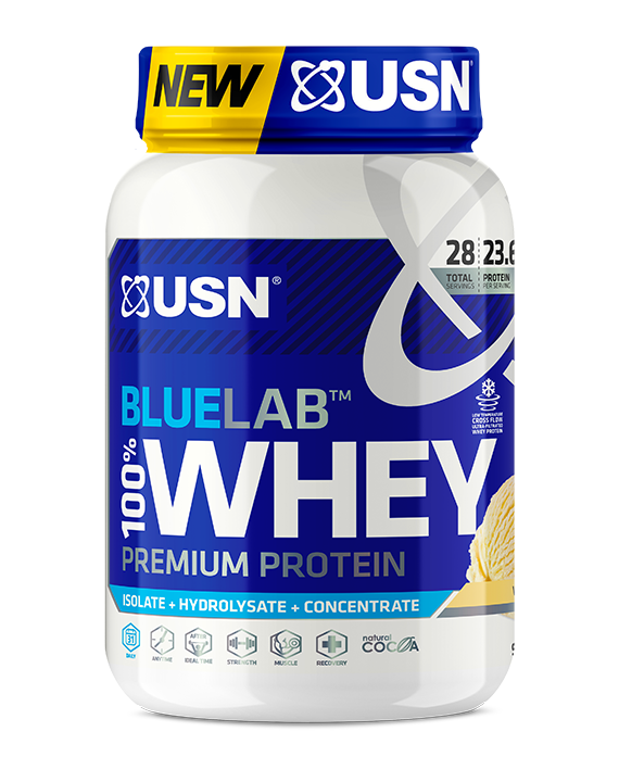 Load image into Gallery viewer, USN Bluelab 100% Whey Protein 908g