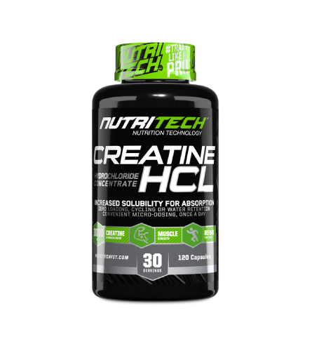 Load image into Gallery viewer, Nutritech Creatine HCL 120 Caps