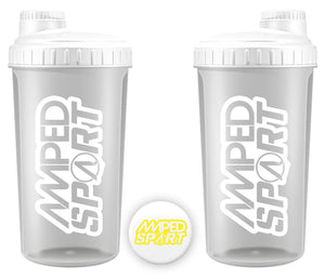 Amped Sport Crisp and Clear Shaker 700ml