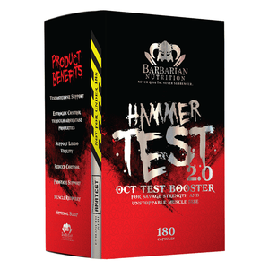 Barbarian Nutrition Hammer Test 2.0 + Wrist Supports