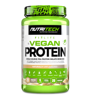 Load image into Gallery viewer, Nutritech Vegan protein 100% Pea Isolate