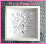 white Stars 3d framed picture