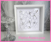 white Stars 3d framed picture not in the high street