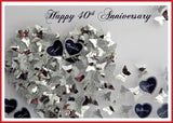 1st paper wedding anniversary gift with butterflies