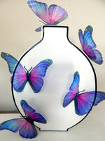 Lilac very pretty wedding butterflies,or any occasion.Removable stickers.Home Decorations,bathroom