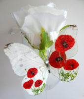 poppy butterflies