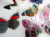 Natural reproduction 3d butterfly wall stickers,sun catcher,plant pots,walls,table decor,conservatory,windows,display of butterflies