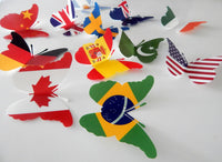 USA, Union Jack,  flags of the world party decorations