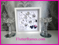 Minnie and Mickey Mouse hand crafted picture by flutterrfames