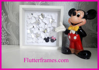 Minnie and Mickey Mouse hand crafted picture