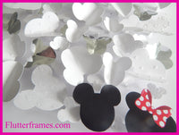 Unique Minnie and Mickey Mouse hand crafted picture