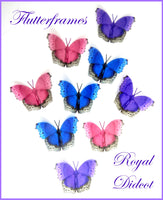 natural pretty butterflies for little girl's bedroom