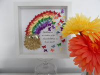 rainbow personalised 3d picture  for nan