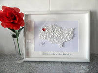 Map picture,USA States picture,English counties,Country,Cities picture Personalized 3d wall art,New Home,Map,California,Nevada,Kent,Hawaii