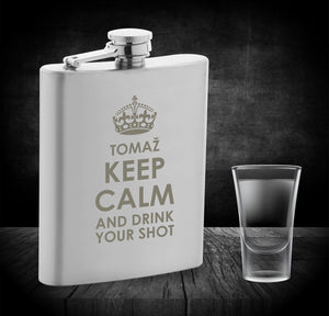 Prisrčnica Calm down and drink your shot z imenom