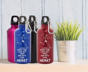 Športna flaška Run with your heart - 400 ml