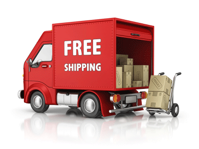 FREE SHIPPING on your first order with us!