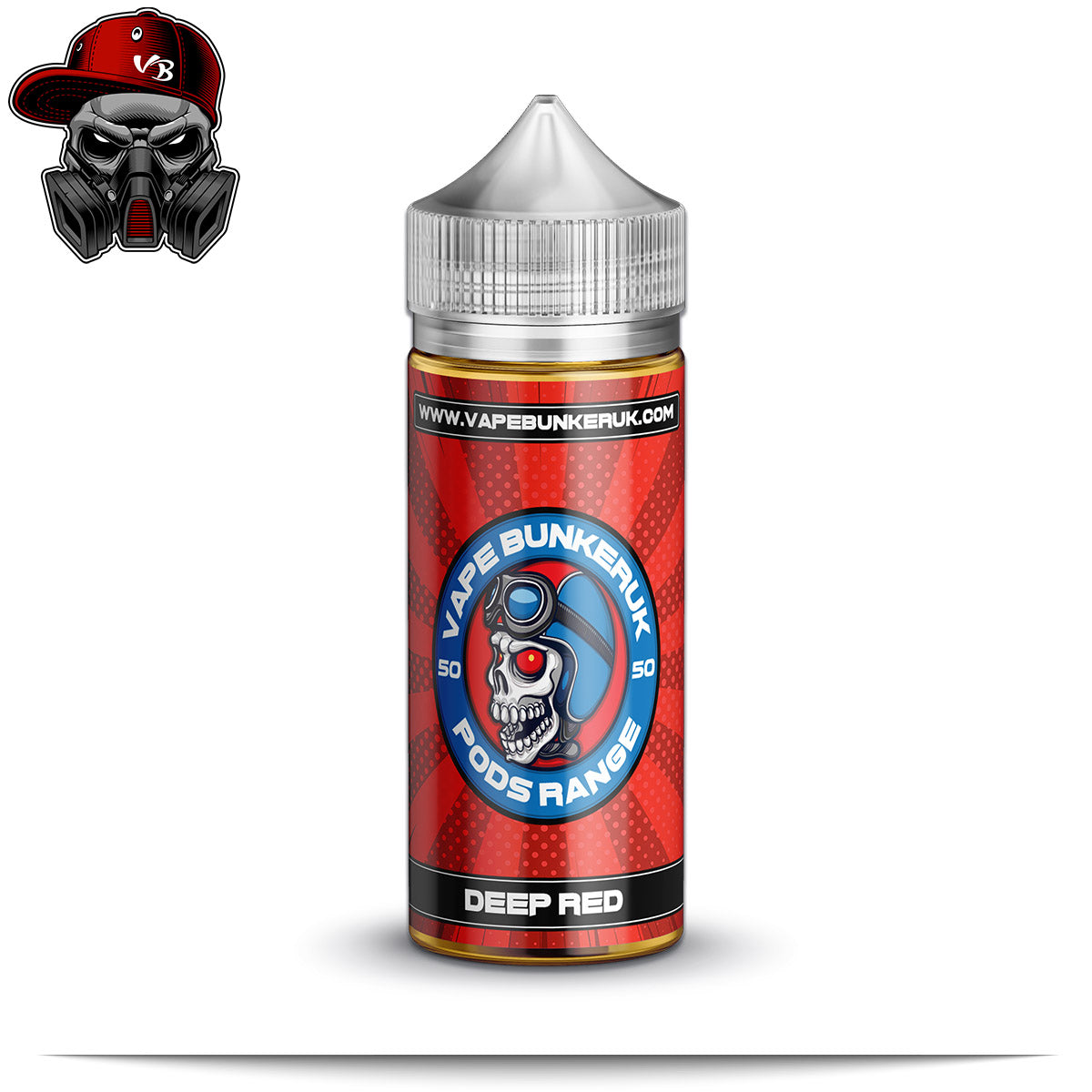 Deep Red - Pods Range - VapeBunkerUK