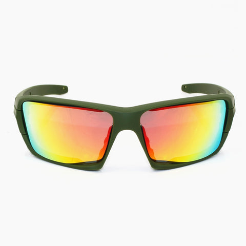 4 lens Polarized Sunglasses UV protection Military  Glasses TR90 Army Google Bullet-proof Eyewear vole JBR