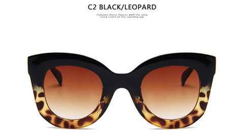 Kim Kardashian Luxury Rectangle sunglasses women brand designer retro  cat eye sun glasses Female Eyewear UV400 oculos