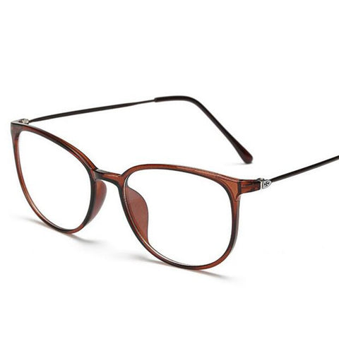 Ultralight Steel wire  Finished Myopia Glasses Women Men Oval Student Short-sighted Glasses Diopter -0.5 -1.0 -1.5 -2.0 To -6.0