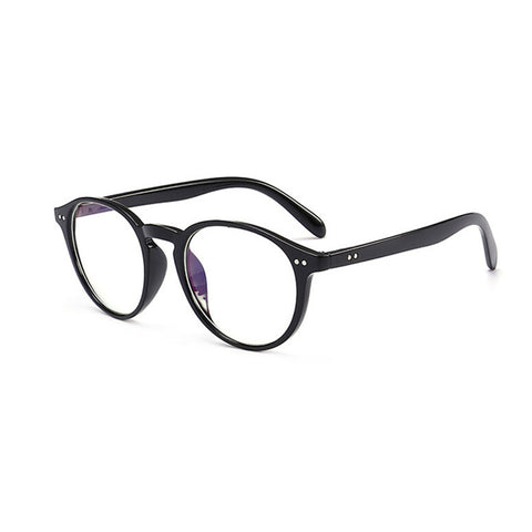 Zilead Retro Round Full Frame Reading Glasses Women&Men Clear Lens Presbyopic With Diopter Eyewear Frame Myopia Frame Unisex