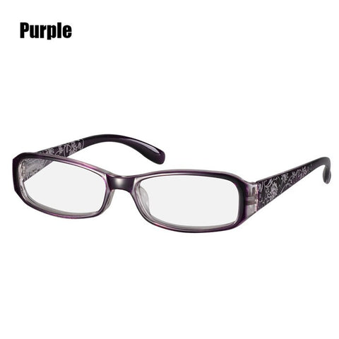 New Spring Hinge Flower Print Resin Reading Glasses Women Men Presbyopic Eyeglasses Eyewear Unisex Optics Glasses  +1.0~+4.0