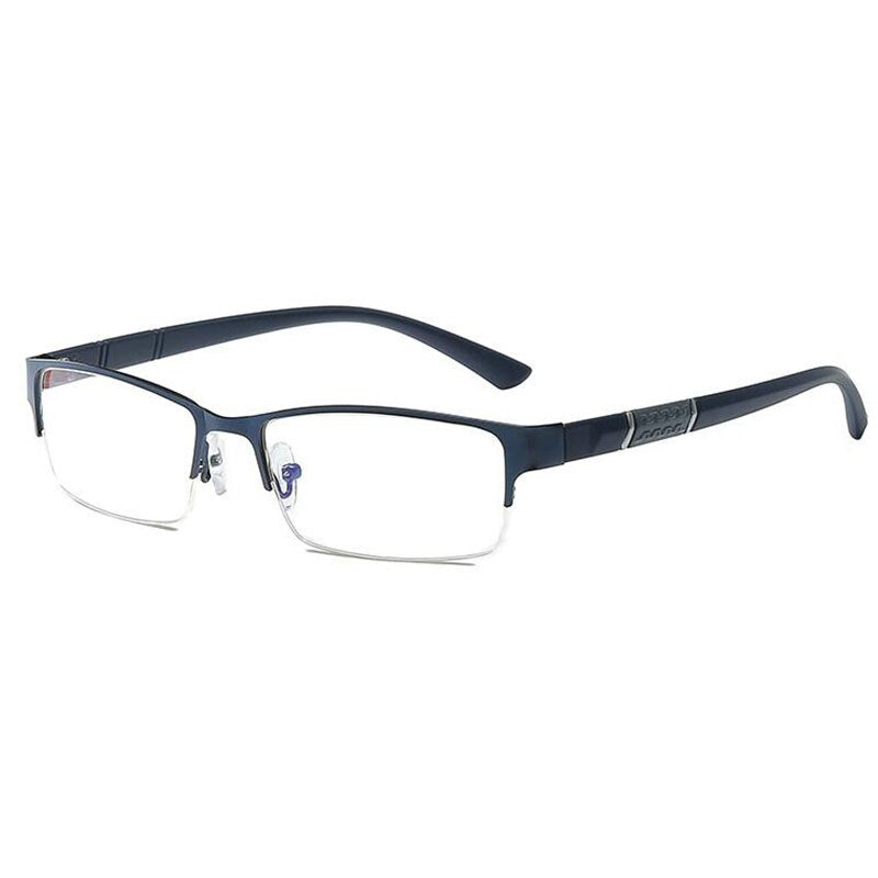 Half Metal Frame Nearsighted Glasses Unisex Myopia Resin Clear mirror 0 -0.5 -1 -1.5 -2 -2.5 -3 -3.5 -4 -4.5 -5 -5.5 -6