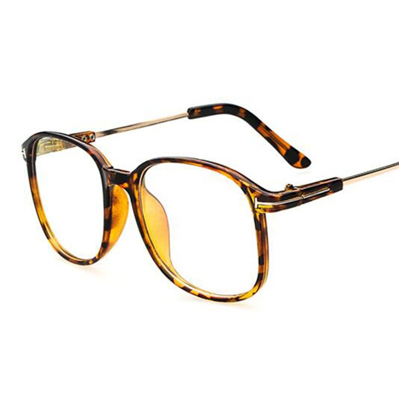 Retro Big Oversized Frame Myopia Eyeglasses Women Men Eye Glasses Optical spectacle Oculos De Grau -1.0 -1.5 -2.0 -2.5 To -6.0