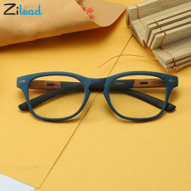 Zilead Unbreakable Classic Reading Glasses Men Retro TR90 Half Frame Presbyopic Eyeglasses Anti Fatigue +1.0 2.0 2.5 3.0 3.5 4.0