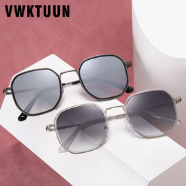 VWKTUUN Sunglasses Men Square Shades Outdoor UV400 Sun Glasses For Male Driving Sport Glassses Mirror Points Mes Eyewear