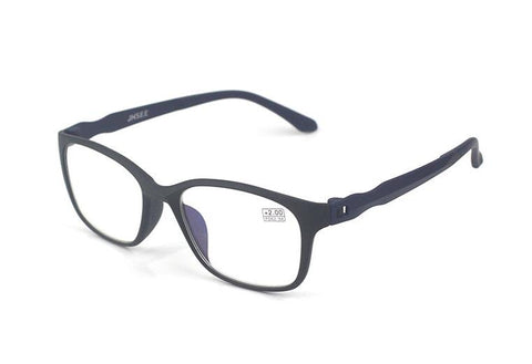 Reading Glasses Men Anti Blue Rays Presbyopia Eyeglasses Antifatigue Computer Eyewear with +1.5 +2.0 +2.5 +3.0 +3.5 +4.0