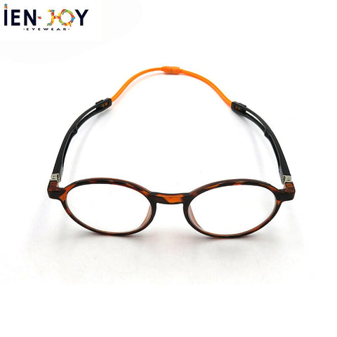 IENJOY Blue Light Blocking Glasses Magnetic Reading Glasses Portable Hanging Neck Reading Glasses Round Glasses Men Eyewear +1.5