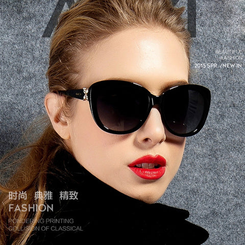 COOYOUNG New Oval Frame Sunglasses Womens Designer Luxury Ladies Sun Glasses UV400 Female Eyewear