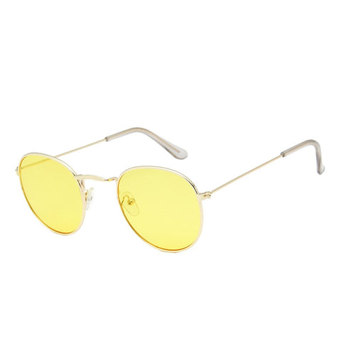 Hot 100% Polarizd Sunglasses Women/Men Brand Designer Round Motorcycle Sun Glasses Drive Oculos De Sol Gafas