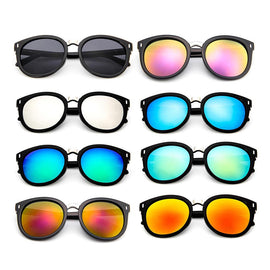 Vintage Cat Eye Sunglasses Women High Quality Brand Designer Fashion Sun glasses for Men Retro Mirror Eyewear Driver Goggles