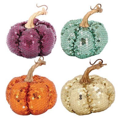 Sequin Pumpkin