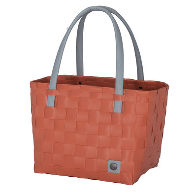 Color Block Canyon Clay Recycled Tote