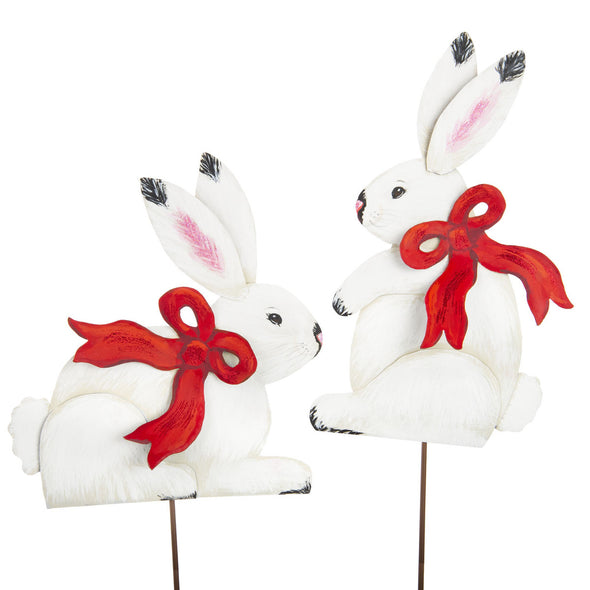 PREORDER 50% DEPOSIT Winter Rabbits Set of Two