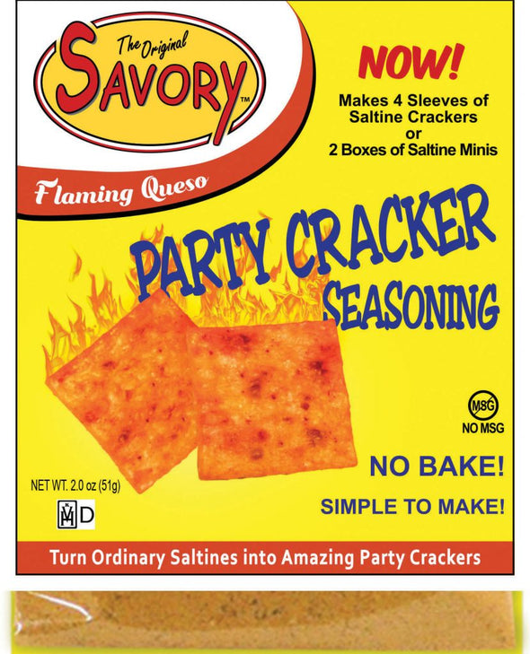 Flaming Queso Cracker Seasoning