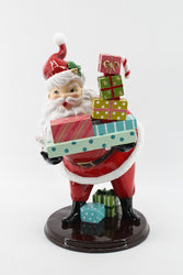 PREORDER 50% DEPOSIT Retro Santa with Gifts