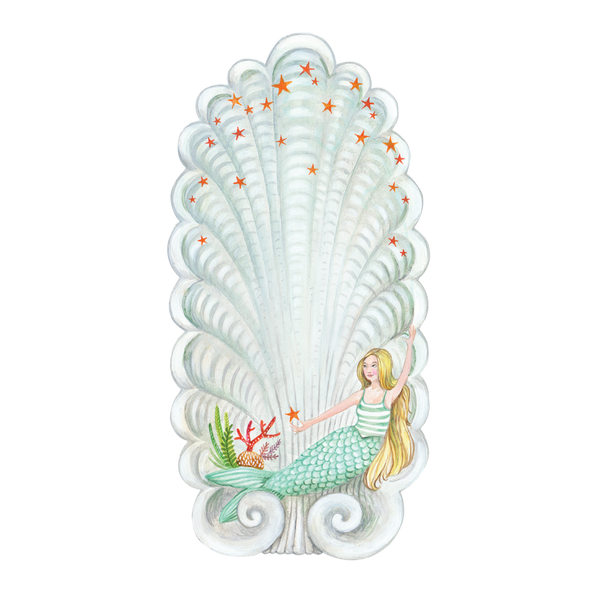 Mermaid Table Accent