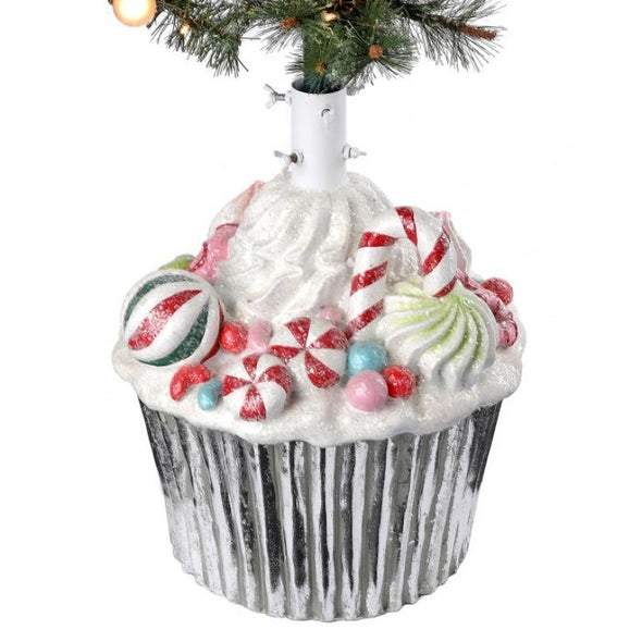 "21"" Concrete Cupcake Tree Stand"
