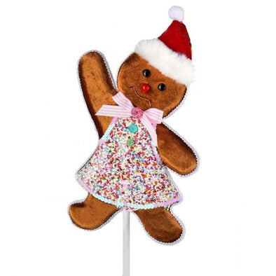 Gingerbread Man Stake