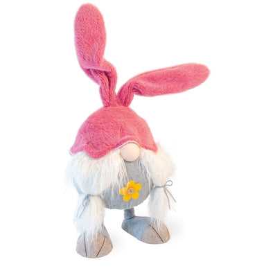 Giant Bouncing Bunny Easter Gnome-Pearl