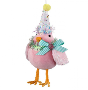 "10"" Sparkle Candy Bird"