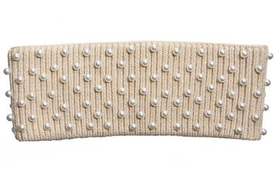 Camel Pearl Ear Warmer