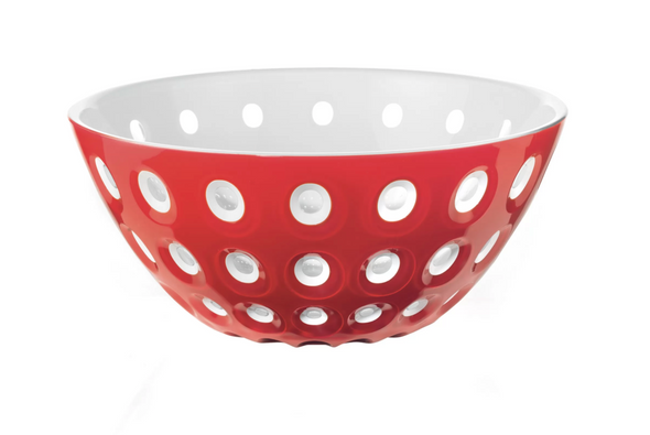 Large Red/White Le Murrine Bowl