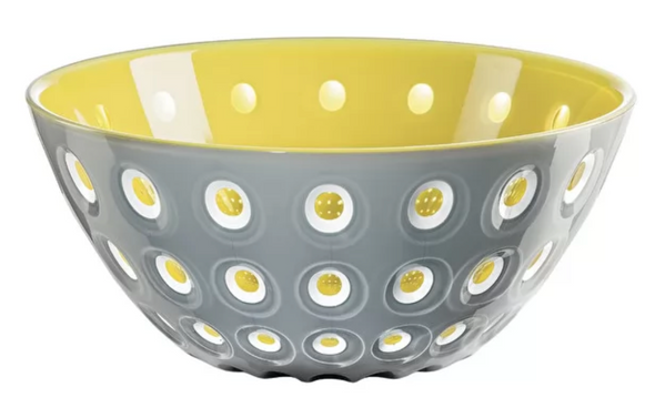 Large Grey/Yellow Le Murrine Bowl